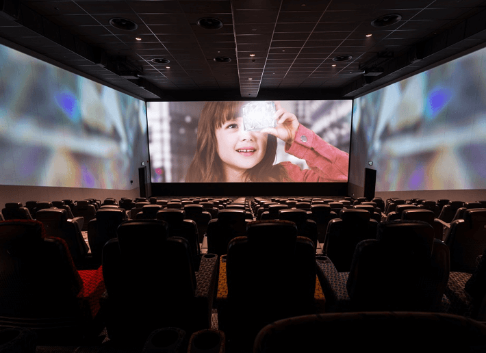 Wraparound cinema screen